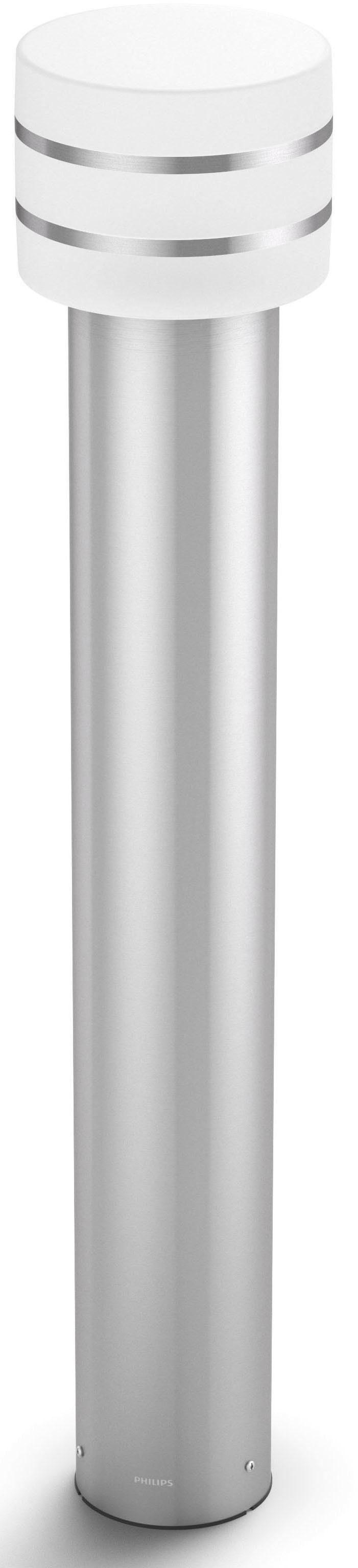 Philips Hue LED Pollerleuchte »Tuar«, 1-flammig, LED Wegeleuchte - smartes LED-Lichtsystem mit App-Steuerung