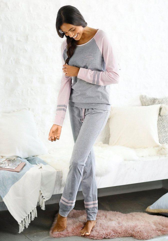 65828c1003abdd Arizona Pyjama, mit Raglanärmeln online kaufen | OTTO