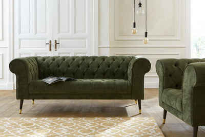 Chesterfield Sofa In Grun Online Kaufen Otto