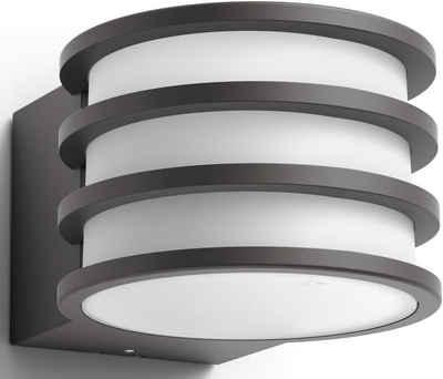 Philips Hue Led Außen Wandleuchte Lucca 1 Flammig Smartes Led Lichtsystem Mit App Steuerung