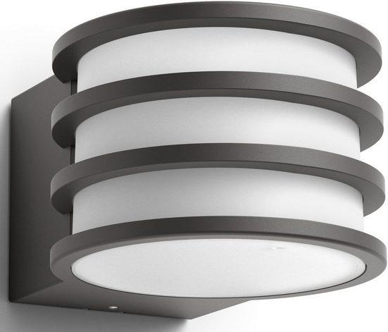 Philips Hue LED Außen-Wandleuchte »LUCCA«, smartes LED-Lichtsystem mit App-Steuerung