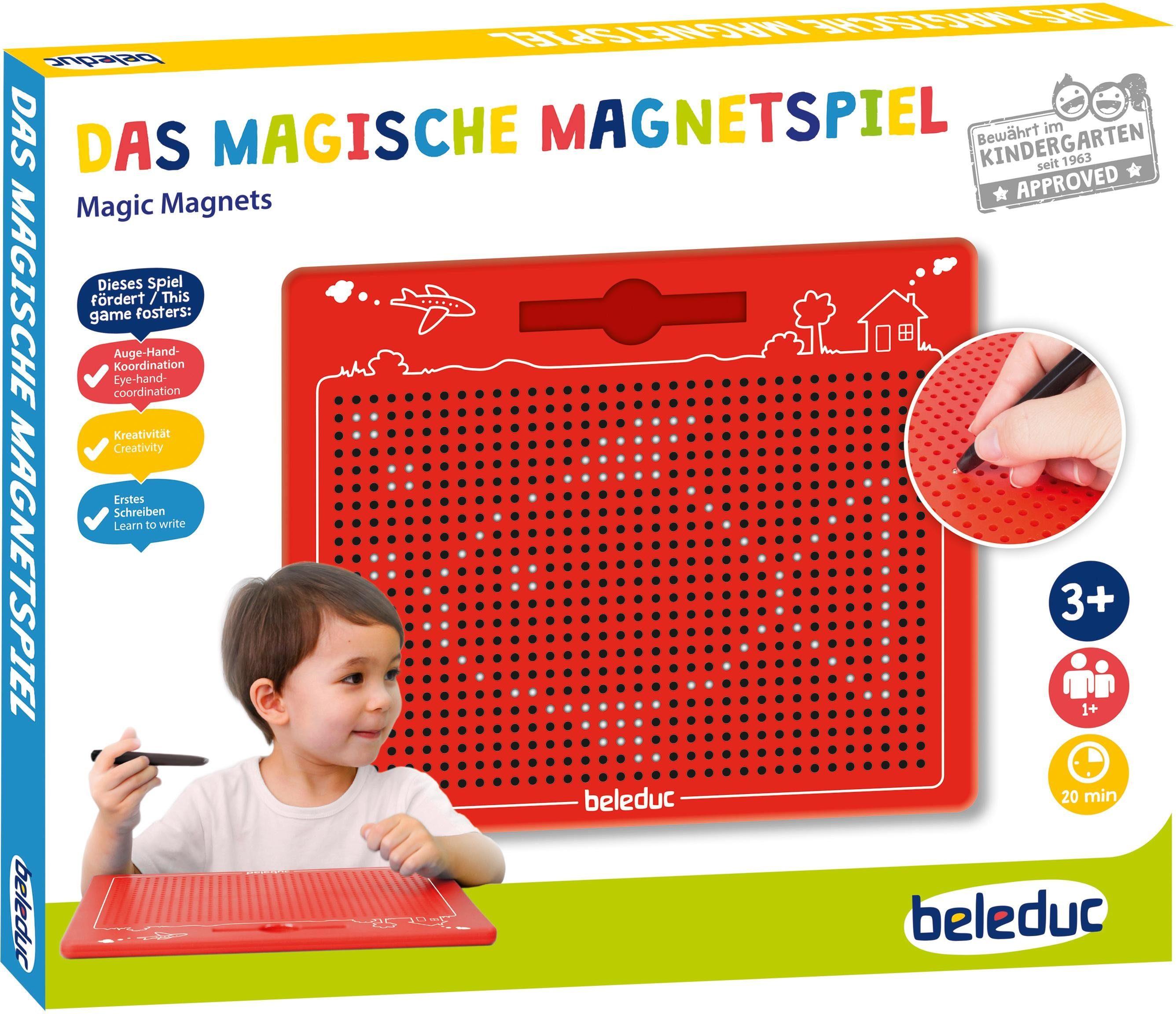 beleduc Magnettafel, »Das magische Magnetspiel«