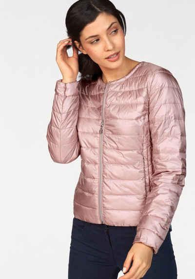 online store 5a5d6 f9ad1 Steppjacke Damen Rosa. Trendy Gefttert Mantel Dicker Damen ...