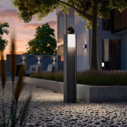 Philips Hue LED Pollerleuchte »Turaco«, 1-flammig, LED Außenleuchte - smartes LED-Lichtsystem mit App-Steuerung