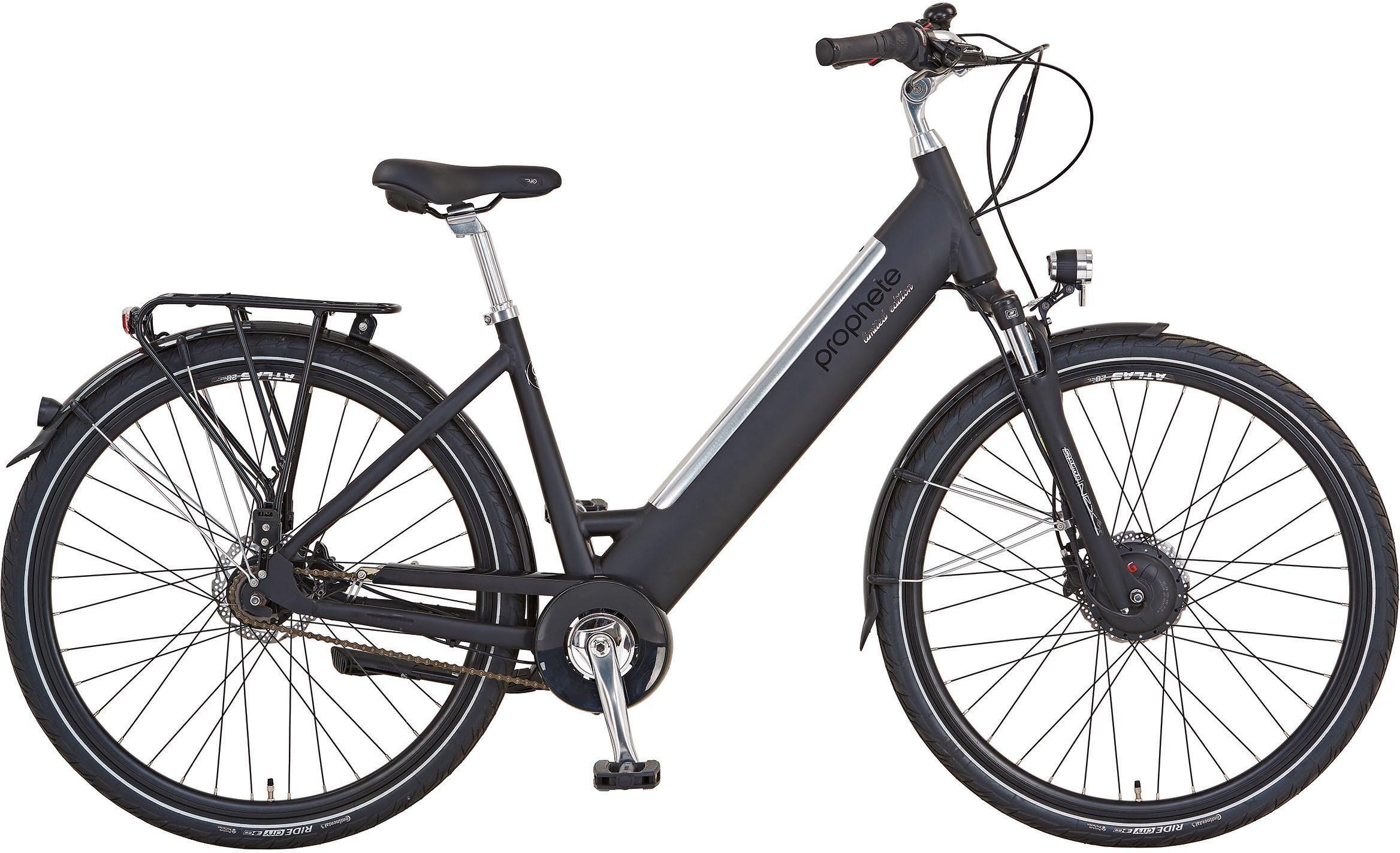 "Prophete E-Bike »Alu-City 28"" Limited Edition«, 7 Gang, Nabenschaltung, Frontmotor 250 W"