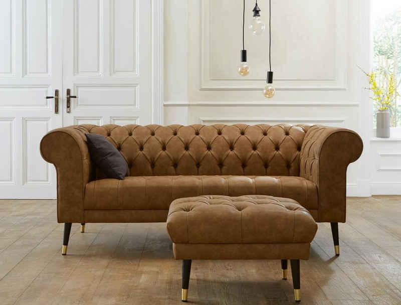 Guido Maria Kretschmer Home&Living Chesterfield-Sofa »Tinnum«
