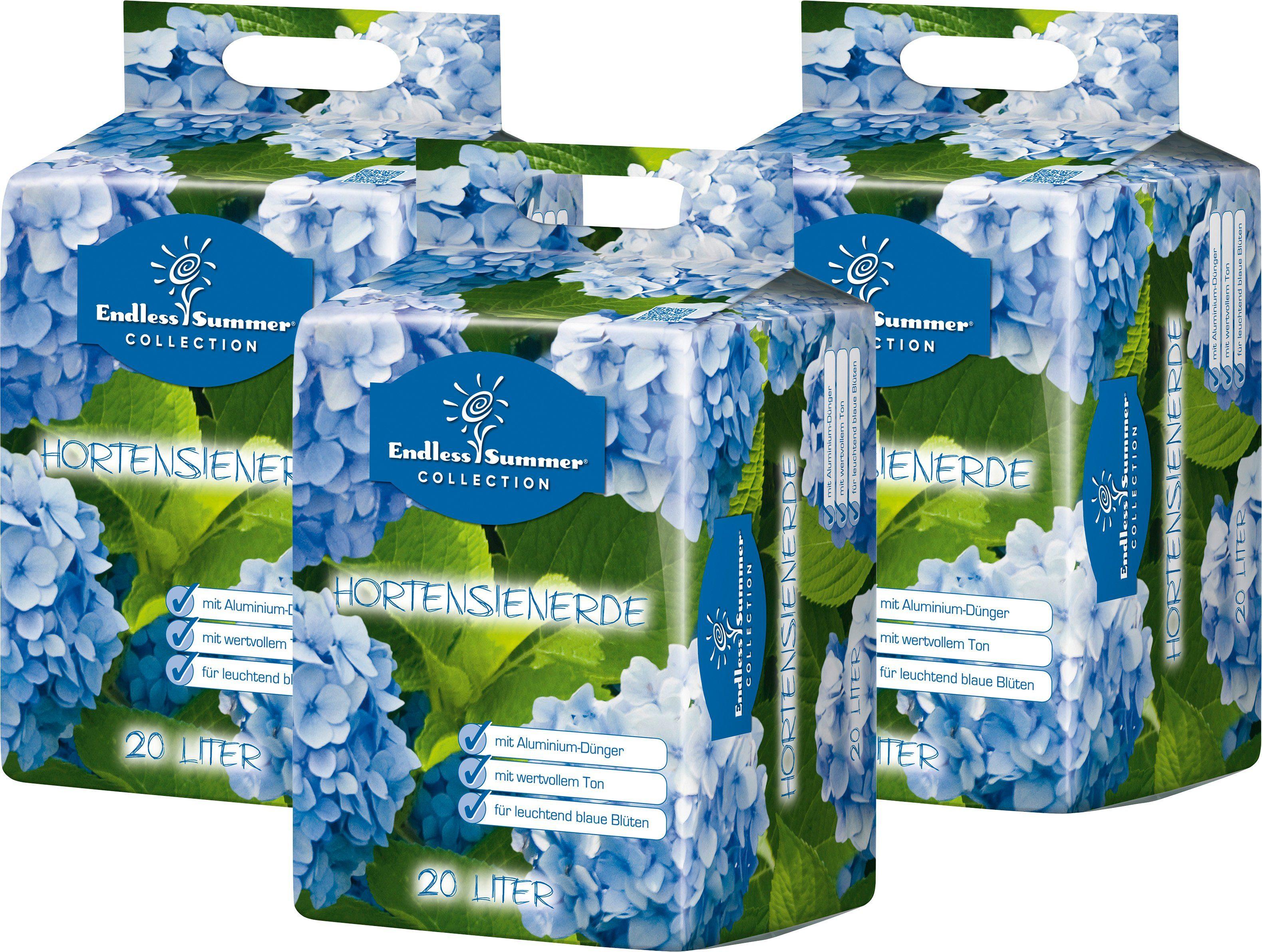 ENDLESS SUMMER Hortensienerde , blau, 3x20 Liter