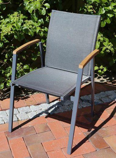 Gartenstühle Alu Stapelbar : destiny gartensessel flores alu textil stapelbar online kaufen otto ~ Watch28wear.com Haus und Dekorationen