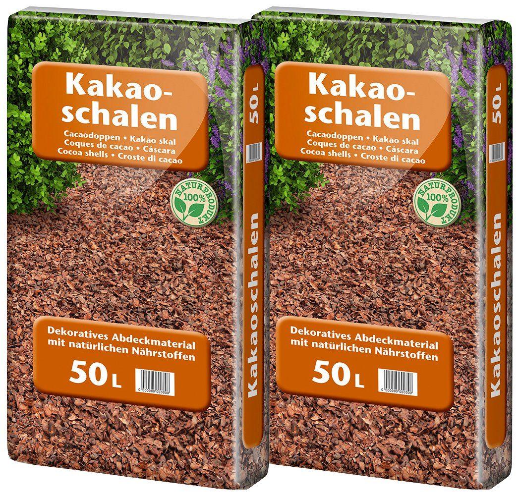UNIVERSAL PFLANZEN Kakaoschalen , zur Abdeckung, 2x50 Liter