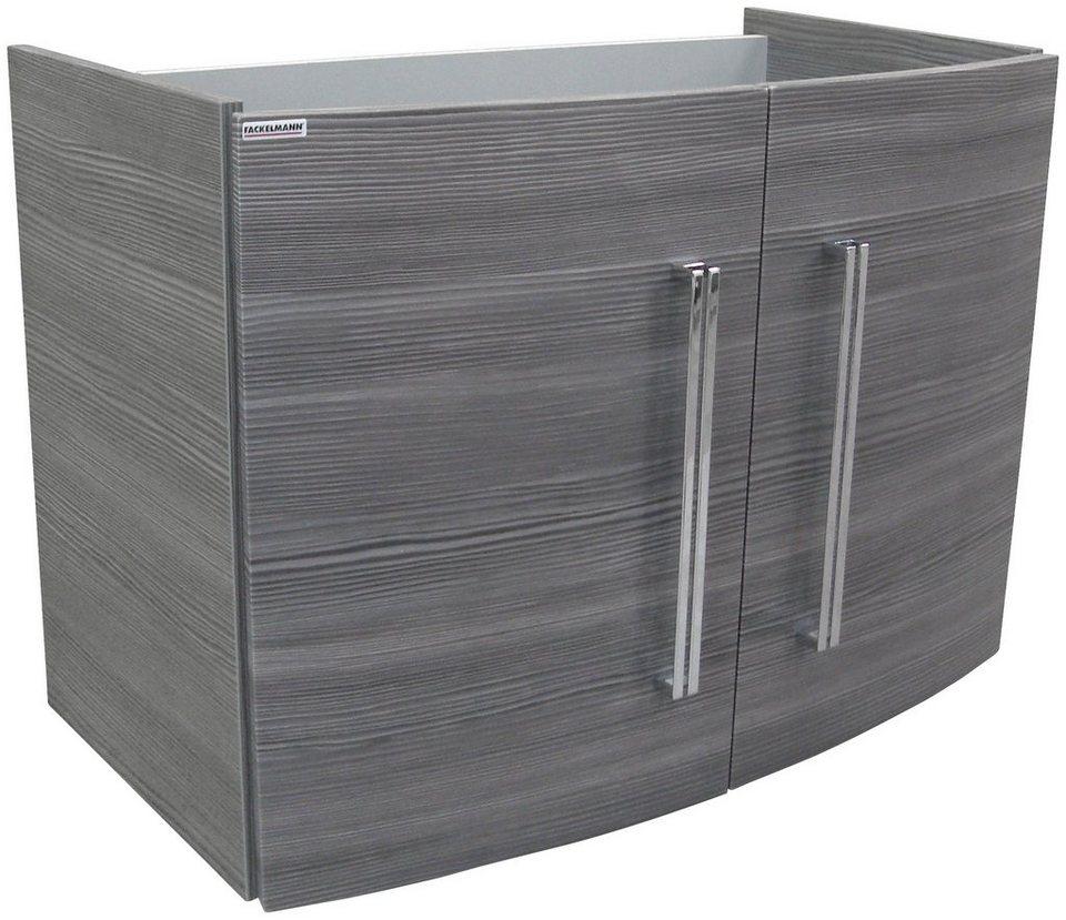 fackelmann waschtischunterbau lugano breite 80 cm t ren mit soft close system online kaufen. Black Bedroom Furniture Sets. Home Design Ideas