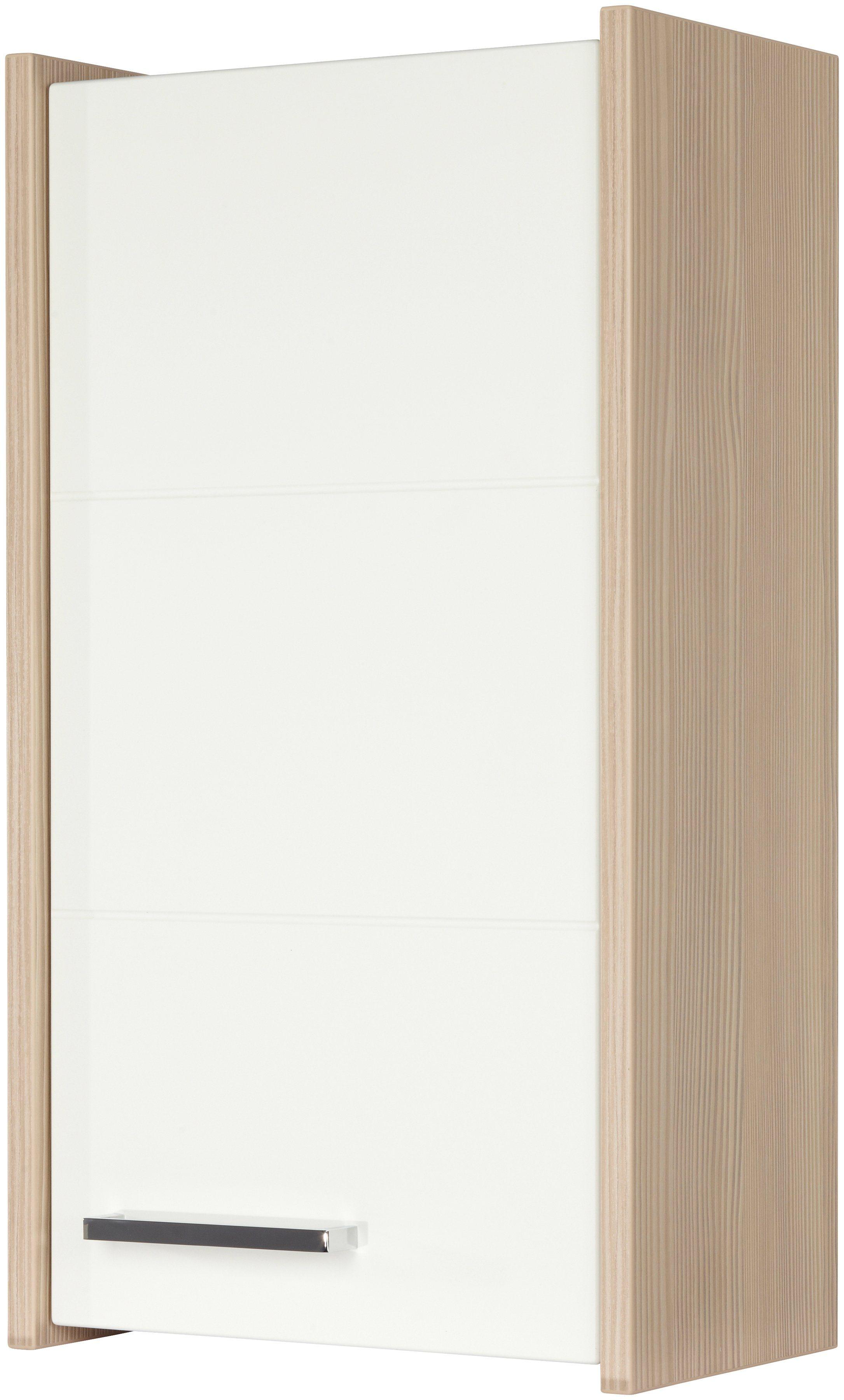 FACKELMANN Badhängeschrank »Kayo«, Breite 33,5 cm   Bad > Badmöbel > Hängeschränke fürs Bad   Weiß   Spanplatte   FACKELMANN