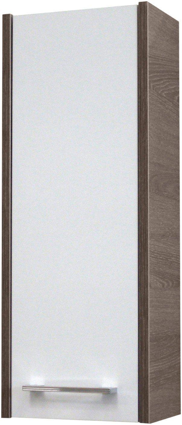 FACKELMANN Badhängeschrank »Malua«, Breite 25 cm   Bad > Badmöbel > Hängeschränke fürs Bad   Weiß   Spanplatte   FACKELMANN