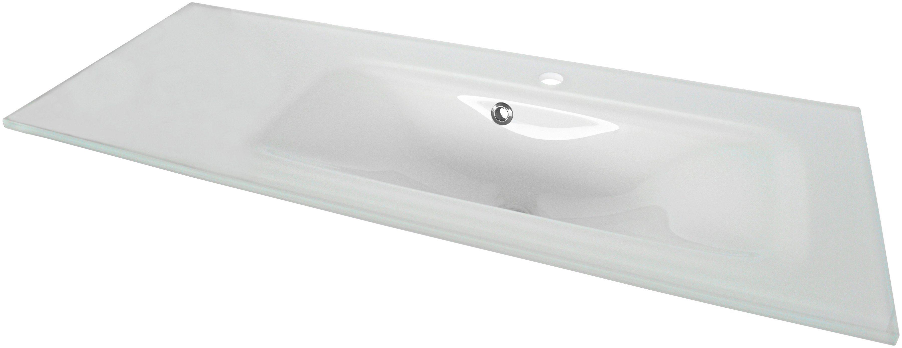 FACKELMANN Glas-Waschbecken »Yega«, Breite 110 cm | Bad > Waschbecken | FACKELMANN