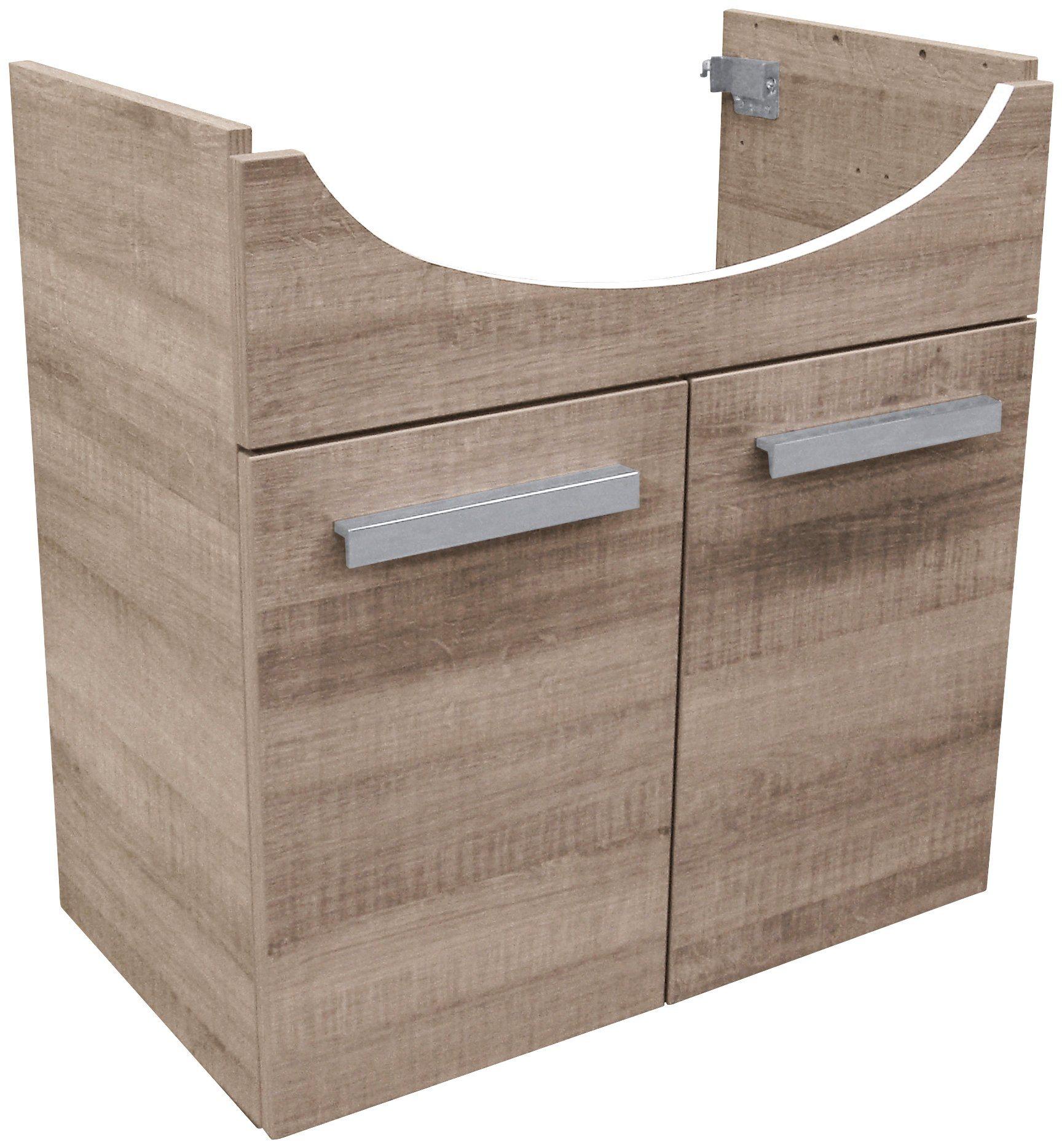 Waschtischunterbau »A-Vero«, Breite 62,5 cm
