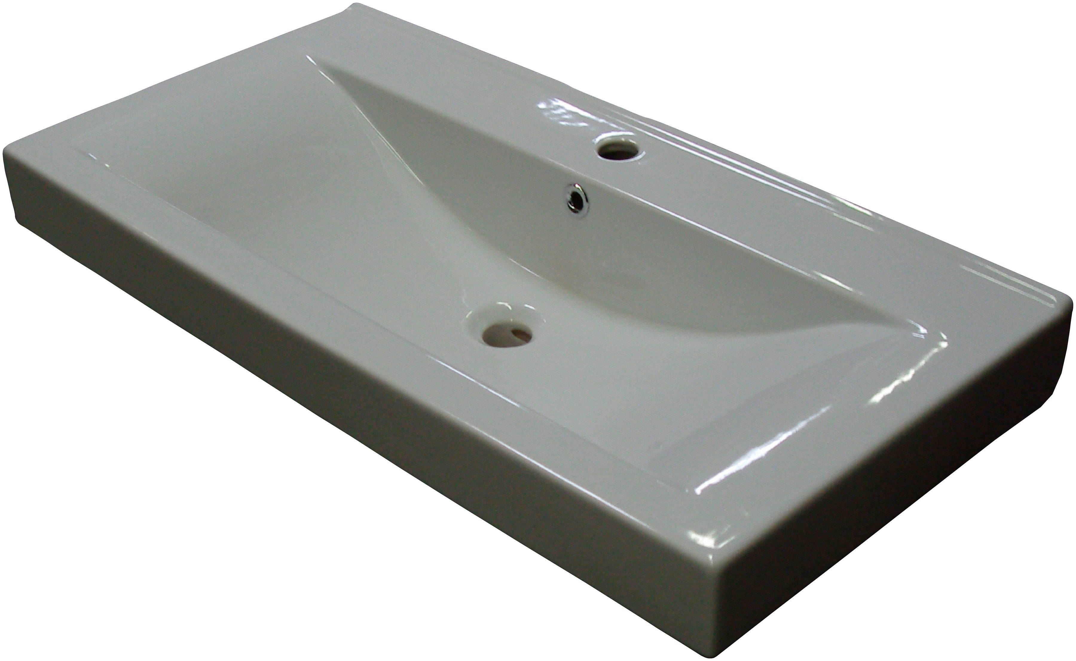 Waschbecken »Piuro«, Breite 89,5 cm, Keramik