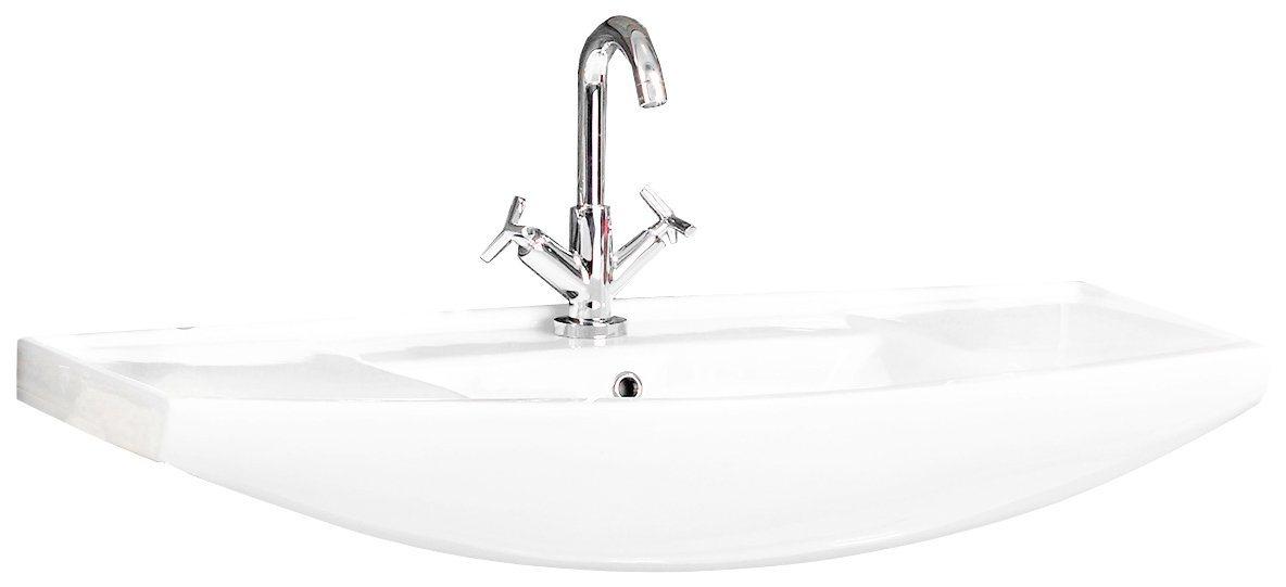 Waschbecken »A-Vero«, Breite 102 cm, Keramik