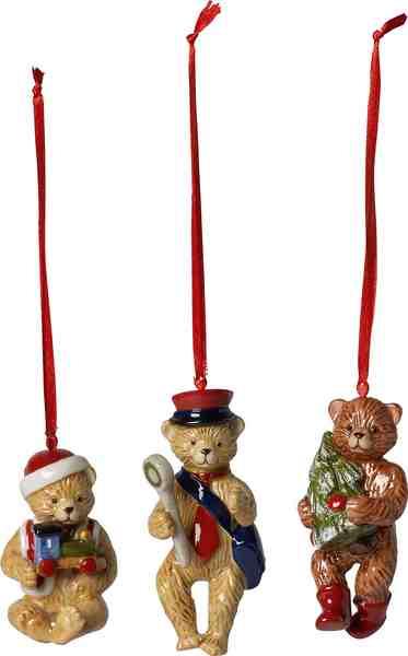 Villeroy & Boch Teddy 3-teilig »Nostalgic Ornaments«