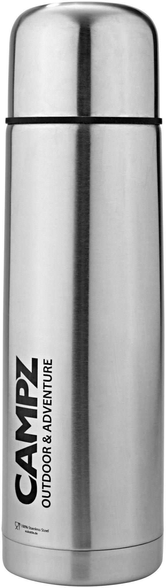 CAMPZ Trinkflasche »Edelstahl-Isolierflasche 1000ml«