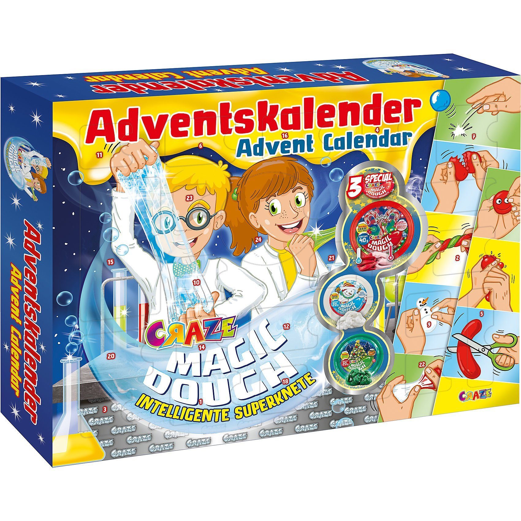 CRAZE Adventskalender Magic Dough