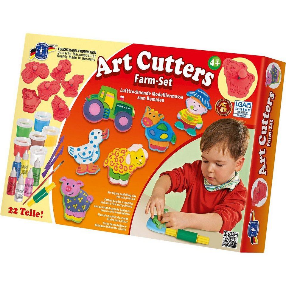 Feuchtmann Art Cutters Relief-Ausstechförmchen Bauernhof Set - Relief-Ausstechförmchen Cutters online kaufen 8d34cd
