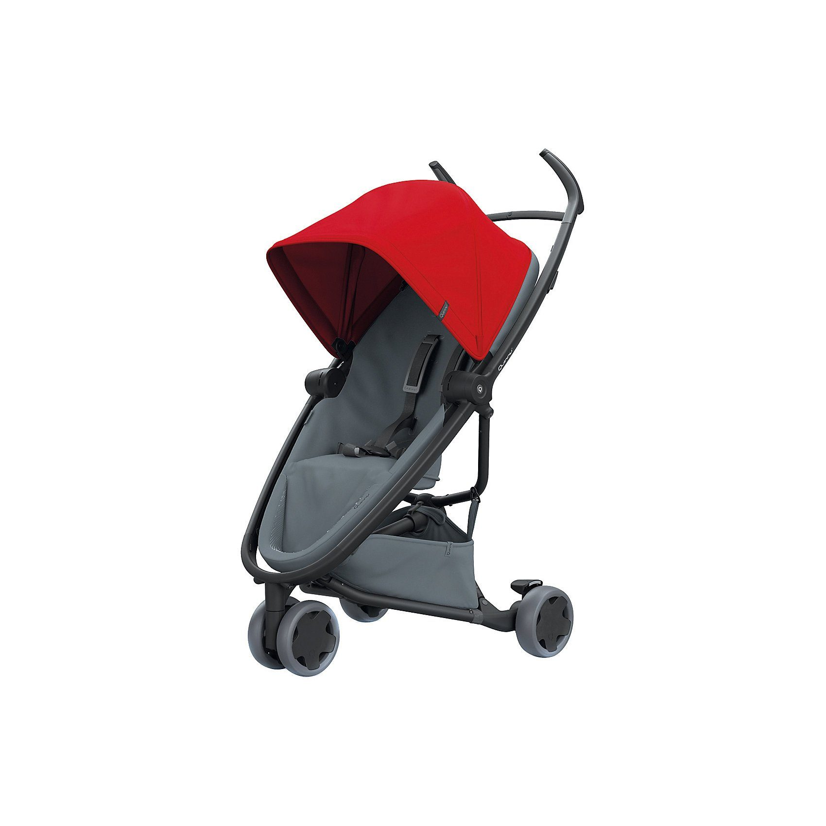 Quinny Buggy Zapp Flex, Red on Graphite, 2018