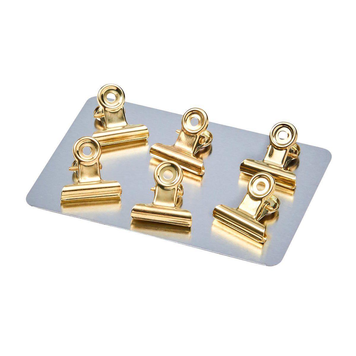 BUTLERS HANG ON »Magnet Clip klein 6 Stück«