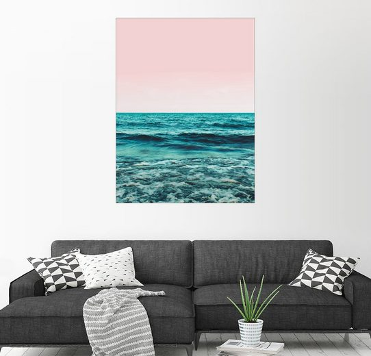 Posterlounge Wandbild - Uma 83 Oranges »Ocean«