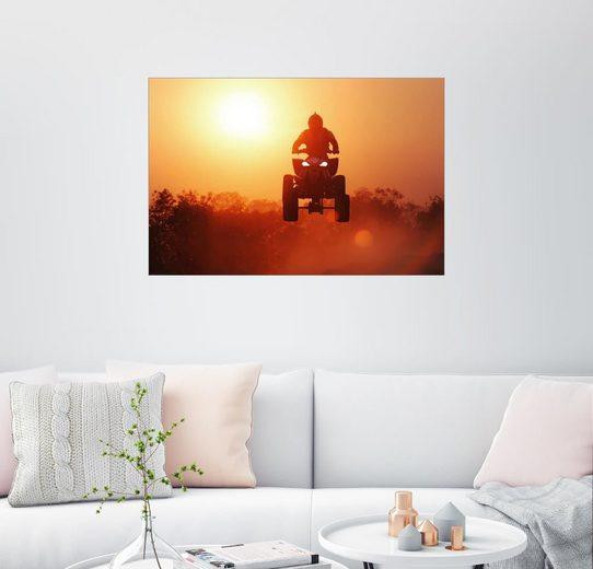Posterlounge Wandbild »Quad fahren«