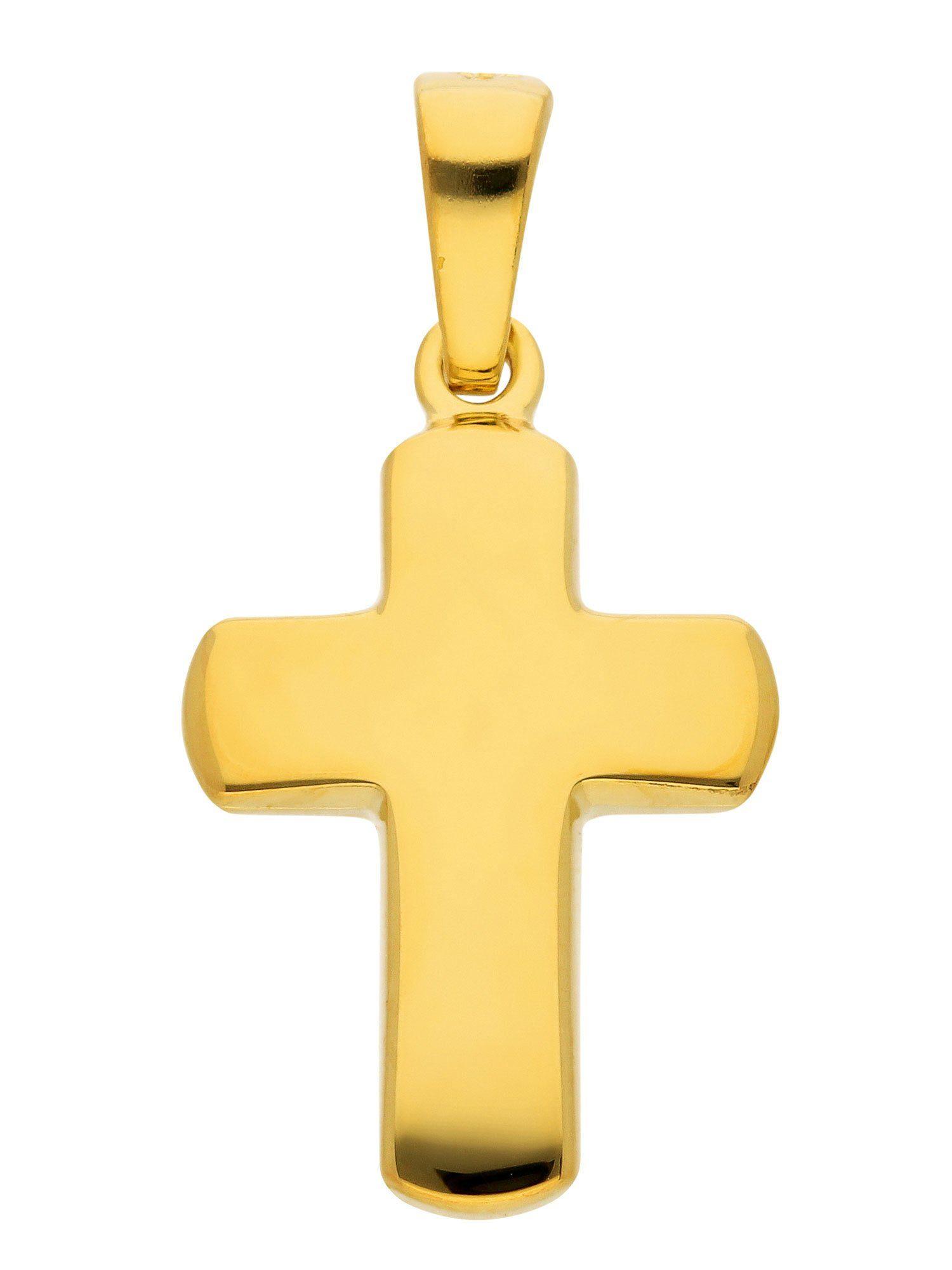 Adelia´s Kettenanhänger »Silber Anhänger«, vergoldet