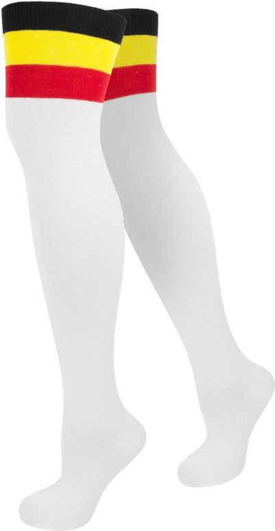 normani Overknees »Overknees Color-Bund« (1 Paar) handgekettelte Fußspitze