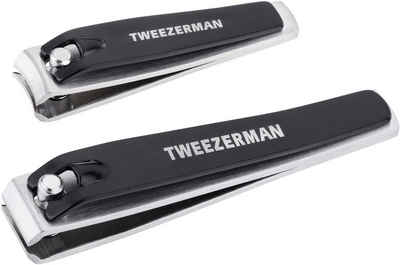 TWEEZERMAN Nagelknipser »COMBO CLIPPER SET«, Set, 2-tlg., Fuß- und Nagelknipser