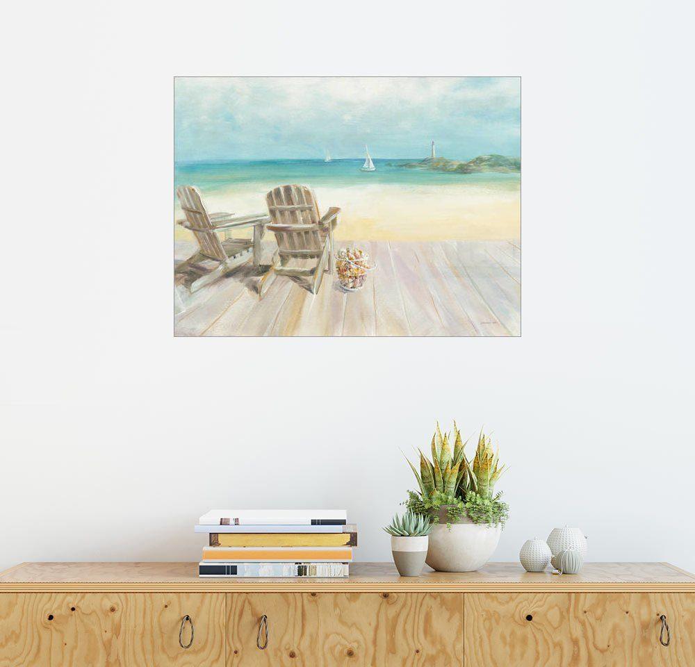 Posterlounge Wandbild - Danhui Nai »Morgen am Meer«
