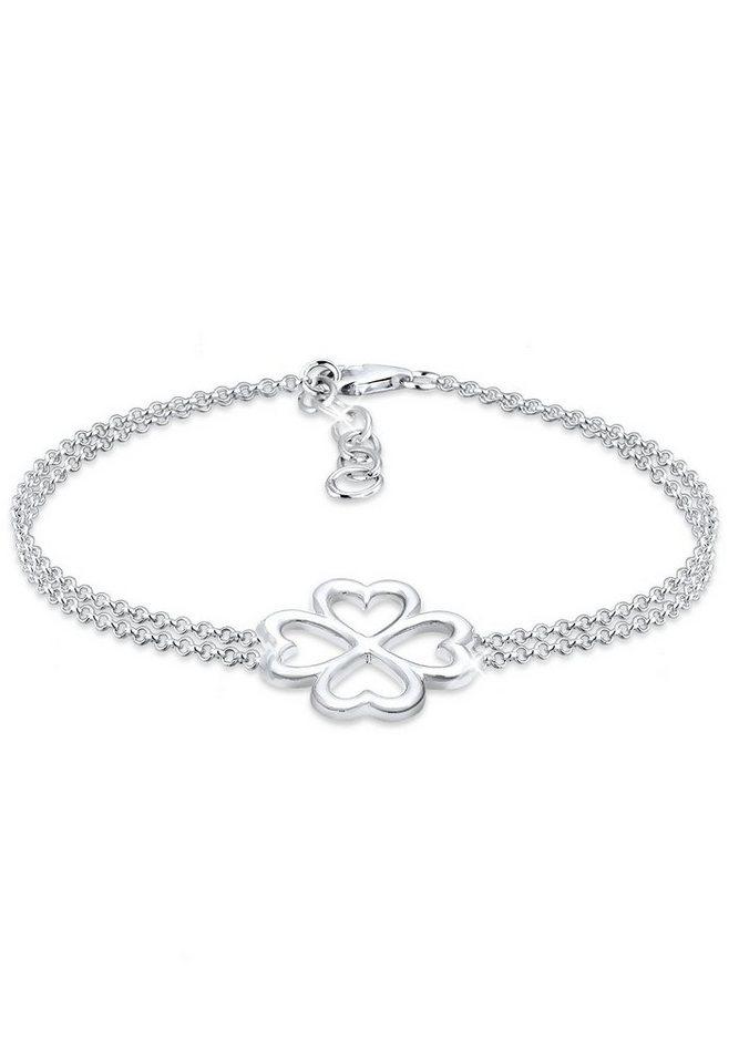 Elli Armband »Kleeblatt Glücksbringer Luck 925 Silber« online kaufen ... 7729306754