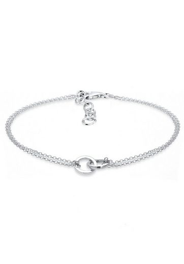 Elli Armband »Kreis Trend Verbundenheit 925 Sterling Silber«