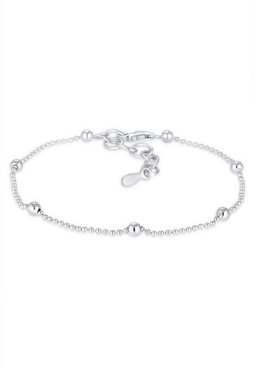Elli Armband »Basic Kugel Geo 925 Sterling Silber«