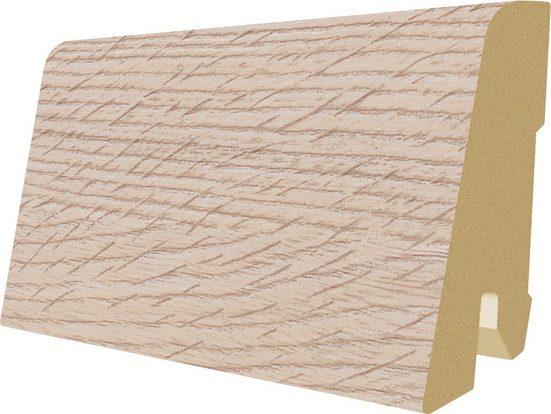 EGGER Sockelleiste »L501 - Lausanne Eiche hell«, 6 cm Sockelhöhe, 240 cm Länge