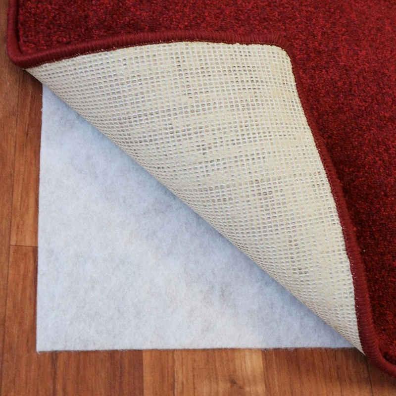 Antirutsch Teppichunterlage »Teppich Stop«, Living Line, (1-St), Rutschunterlage aus Vlies, individuell zuschneidbar, Wohnzimmer