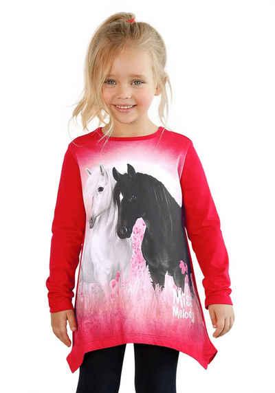 Miss Melody Zipfelshirt mit schönem Pferde-Motiv