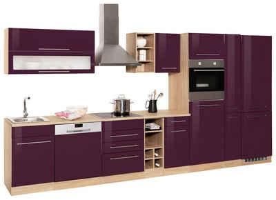 HELD MÖBEL Küchenzeile »Eton«, mit E-Geräten, Breite 10 cm