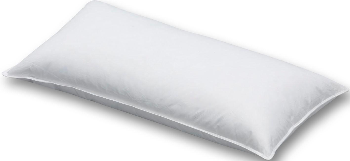 3-Kammer-Kopfkissen, »Smaragd«, Schlafstil, Bezug: 100% Baumwolle, (1-tlg)