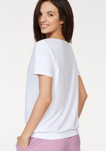 Damen Venice Beach Shirt Rita 04 mit Bund weiß | 04049254404321