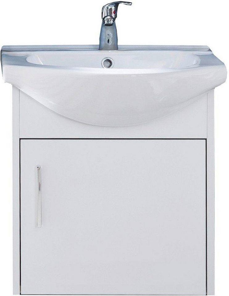 trendteam  Waschtisch Jersey weiß | 04251398952976