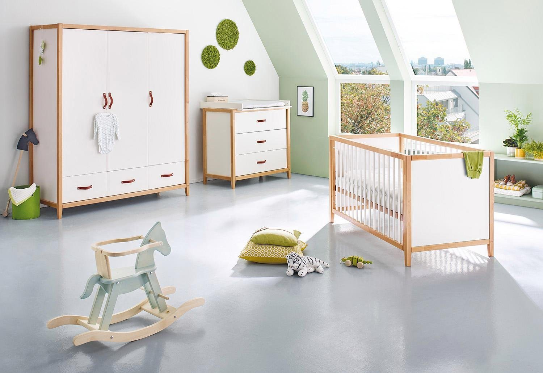 Babyzimmer set buche  weiss-buchenholz Komplett-Babyzimmer online kaufen | Möbel ...