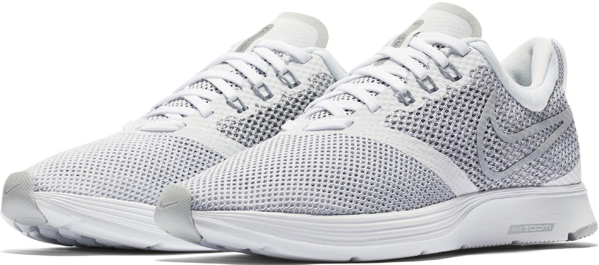 Nike Wmns Zoom Strike Laufschuh online kaufen  weiß-grau