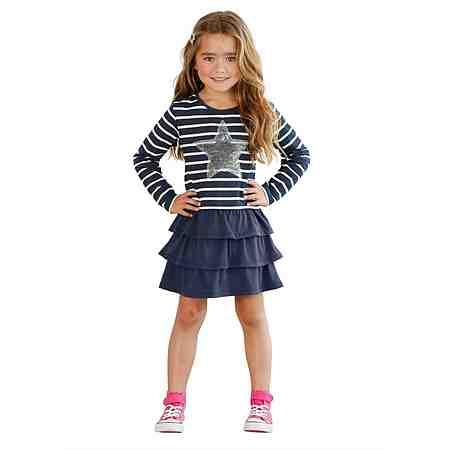 Kids (Gr. 92 - 146): Kleider: Gemusterte Kleider