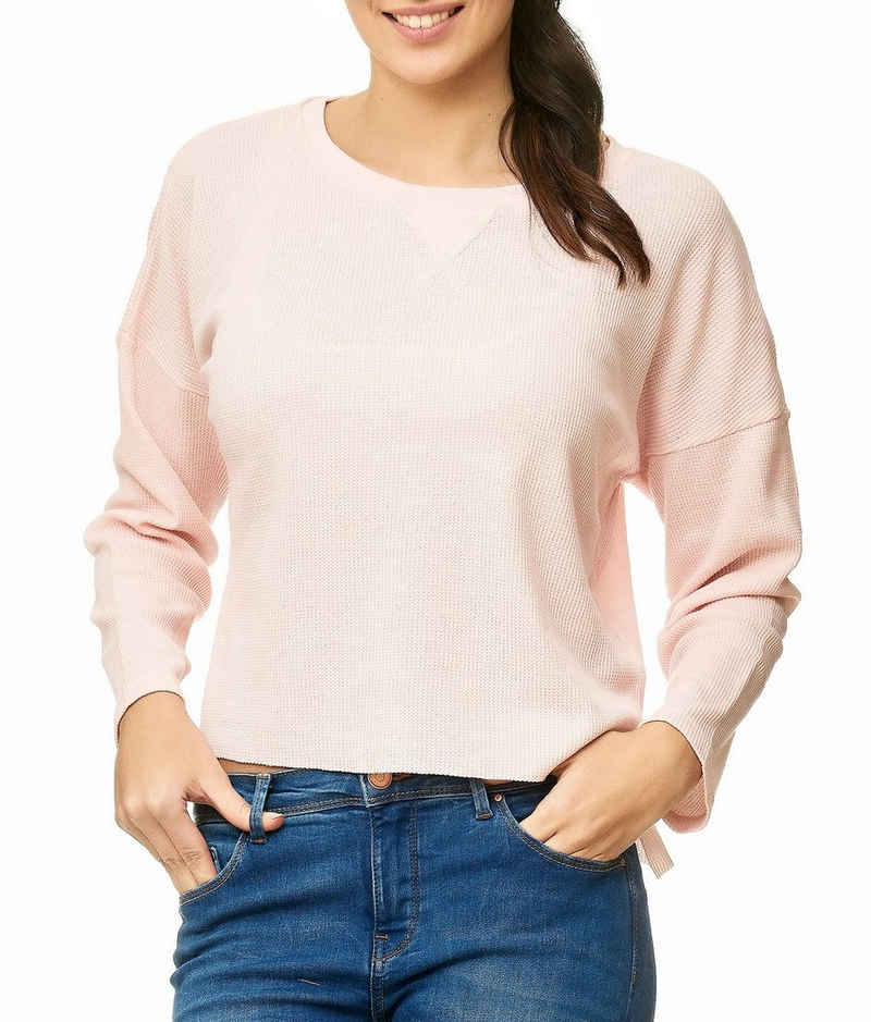 Eight2Nine Longpullover »2684« Damen Longsleeve Pullover JOI
