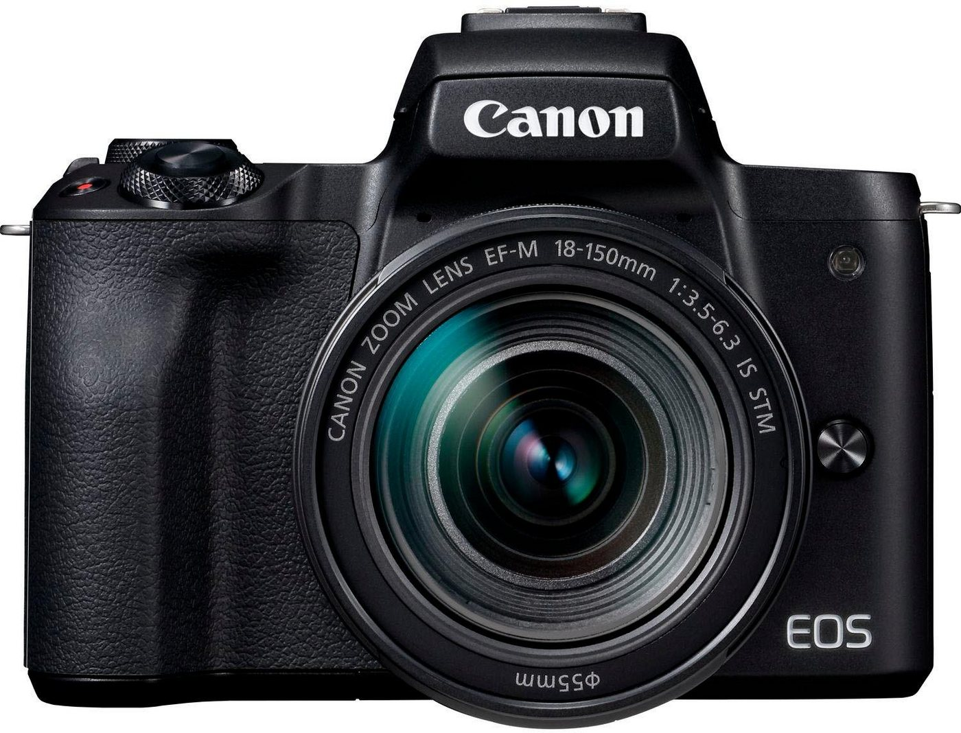 Systemkameras - Canon »EOS M50 EF M18 150 Kit« Systemkamera (EF M 18 150mm f 3.5 6.3 IS STM, 24,1 MP, NFC, WLAN (Wi Fi), Bluetooth)  - Onlineshop OTTO