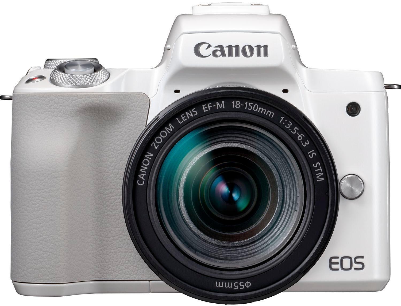 »EOS-M50 EF-M18-150 Kit« Systemkamera (EF-M 18-150mm f/3.5-6.3 IS STM, 24,1 MP, NFC, WLAN (Wi-Fi), Bluetooth)