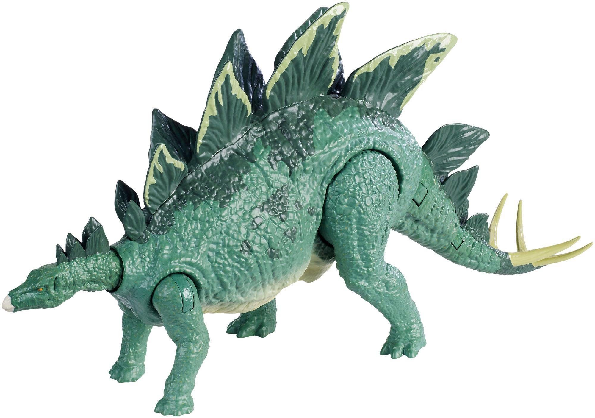 Mattel Spielfigur, »Jurassic World Action-Attacke Stegosaurus«