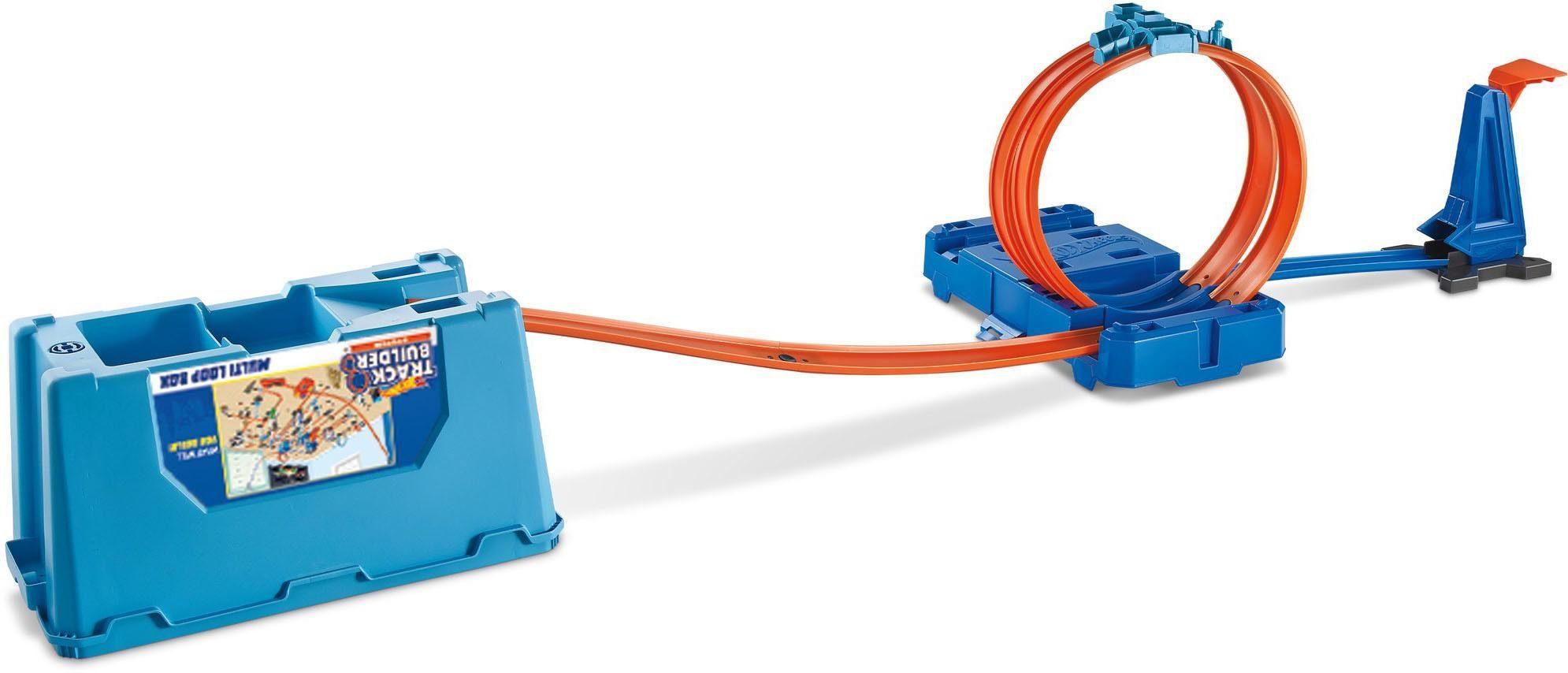Mattel Spielset mit Fahrzeug, »Hot Wheels® Track Builder Super Multi-Looping Box«
